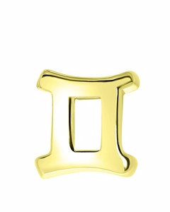 Zilveren Hanger Goldplated Sterrenbeeld