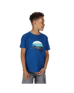 Regatta Kinderen/kinderen Bosley Iii Bedrukt T-shirt