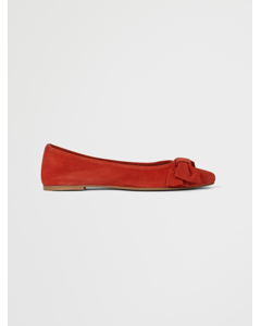 Kenny Ballerina Orange Suede