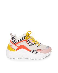 Antonia Sneaker Coral Multi