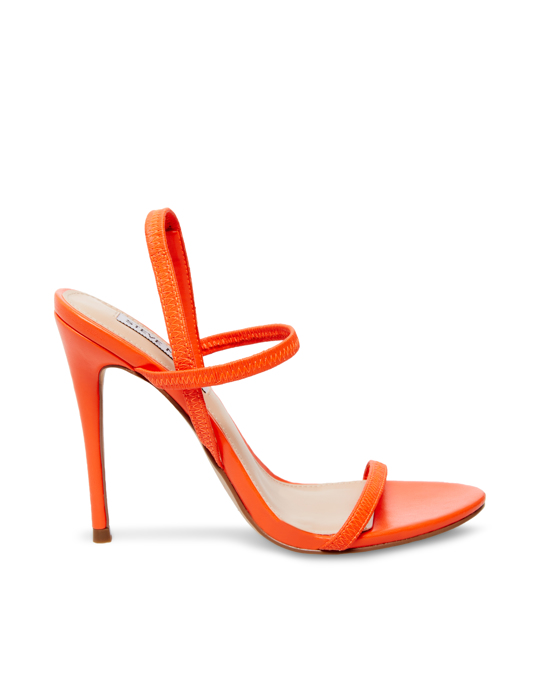 Steve Madden Gabriella Heeled Sandal Red-orange