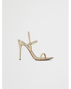 Gabriella Heeled Sandal Gold