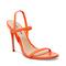 Gabriella Heeled Sandal Red-orange
