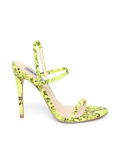 Gabriella Heeled Sandal Green Snake