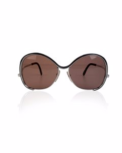 Silhouette Rare Vintage Silver Metal Sunglasses Mod. 431