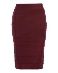 Zasha Spotlight Knit Pencil Skirt