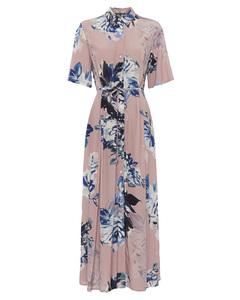 Corsetta Drape Shirt Dress