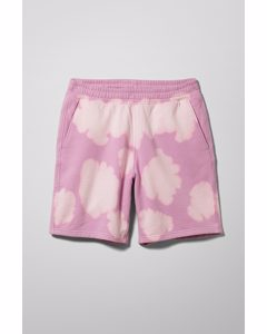 Hakim Bleached Jersey Shorts Pink