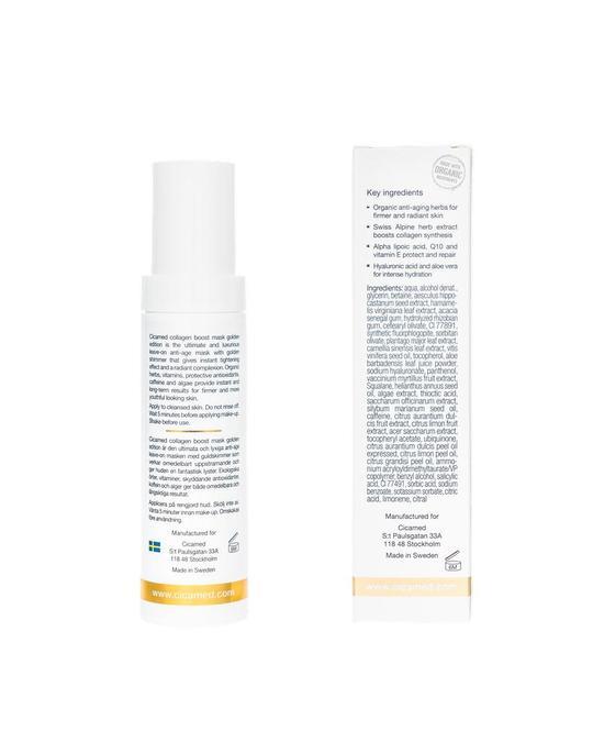 Cicamed Cicamed Collagen Boost Mask Golden Edition 50ml