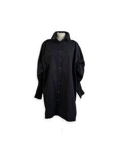 Dolce & Gabbana Svart Bomullsklänningen Modell: Shirt Dress