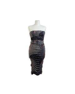 Missoni Gray Silk Dress Modell: Bustier Dress