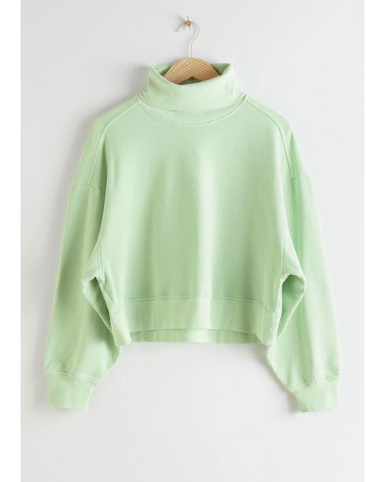 & Other Stories Sweatshirt Green