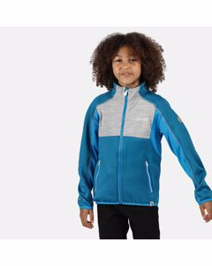 Regatta Childrens/kids Oberon Ii Full Zip Stretch Midlayer