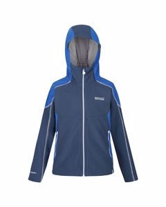 Regatta Childrens/kids Acidity Iv Reflective Hooded Softshell Jacket
