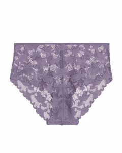 High-waist Lace Briefs Purple