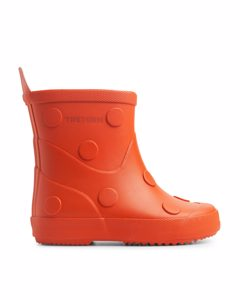 Tretorn Wings Rubber Boots Orange