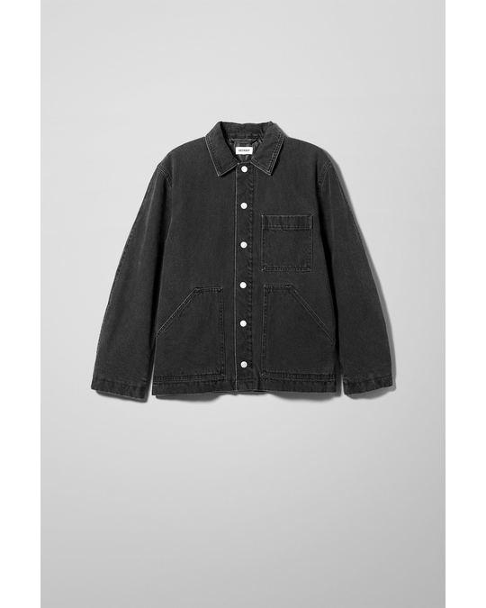 Weekday Jess Quilted Jacket Black Black