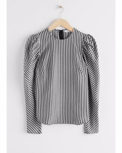 Top Speed New Black Gingham