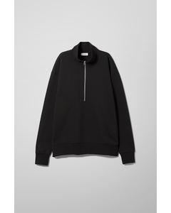 Jive Half Zip Sweatshirt Black