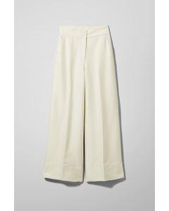 Naomi Trousers White