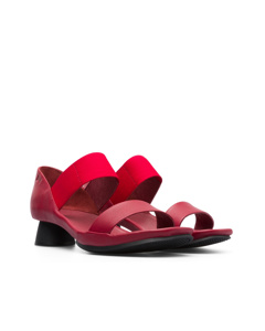 Alright Sandals Red