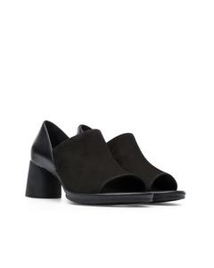 Upright Sandals Black