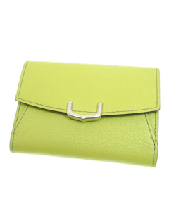 Cartier Leather C De Cartier Wallet Green