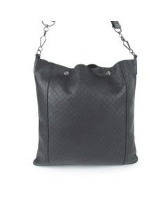 Bottega Veneta Intrecciomirage Crossbody Bag Black