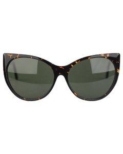 Oversized Brown Photocromatic Sunglasses Mod. Siwa