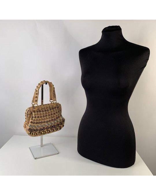 Other Burberry Beige Canvas Handväska Modell: Handbag