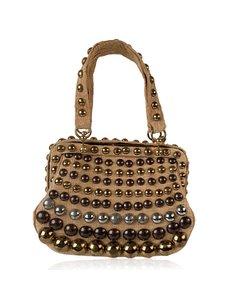 Burberry Beige Canvas Handväska Modell: Handbag