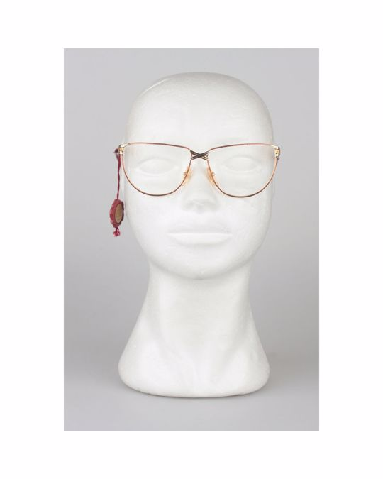 Other Casanova Vintage Gold Fabric Eyeglasses Mod: CN 4