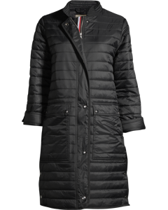 Padded Coat Black