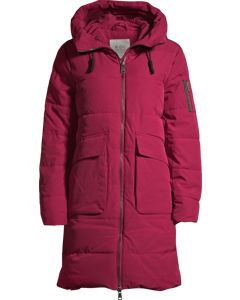 Padded Coat Berry Purple