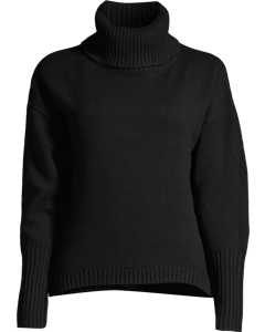 High Neck Sweater Black