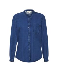 Denim Blouse Blue Medium Wash