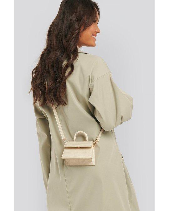 NA-KD Micro Top Handle Bag Offwhite