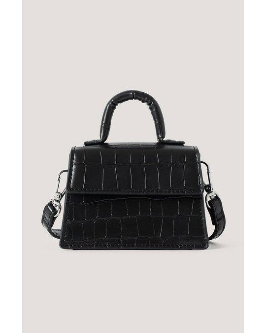 NA-KD Micro Top Handle Bag Black
