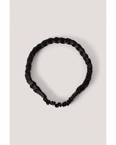 Braided Hairband Black