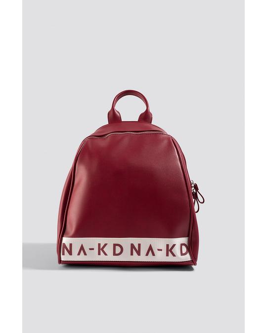 NA-KD Na-kd Backpack Bordeaux