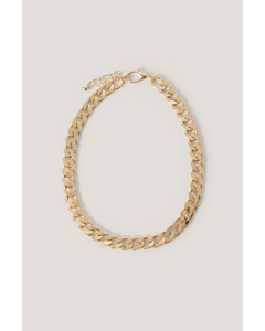 Chunky Chain Necklace Gold