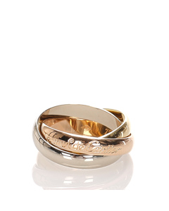Cartier Les Must De Cartier Classic Trinity Ring Gold
