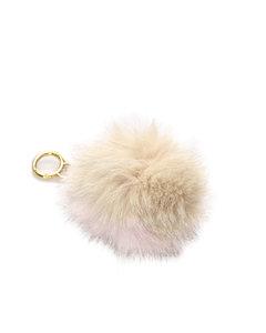 Fendi Fur Pom-pom Key Chain Brown