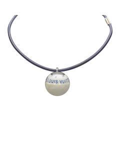 Louis Vuitton Lv Cup 2000 Compass Necklace White