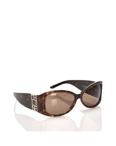 Celine Square Tinted Sunglasses Brown