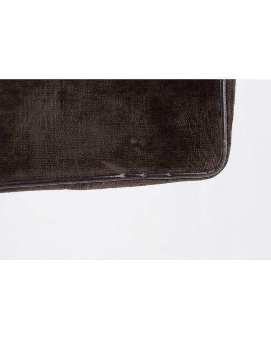 Other Roberta Di Camerino Vintage Brown & Beige Velvet Shoulder Bag