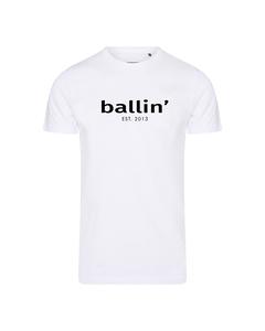 Ballin Est. 2013 Basic Shirt Wit