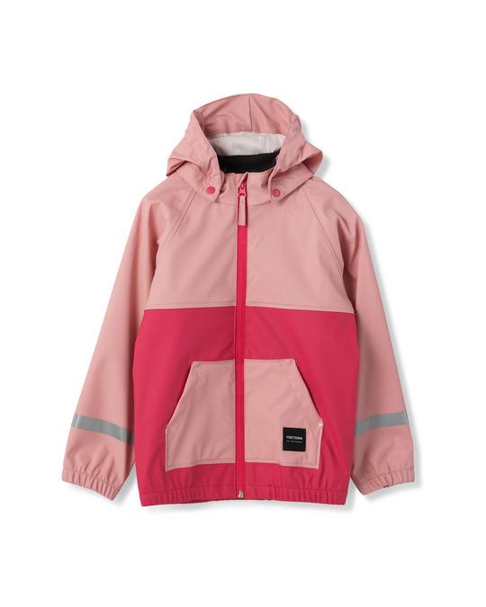 Tretorn Kids Hood Rainjacket 093/lt Rose/ras