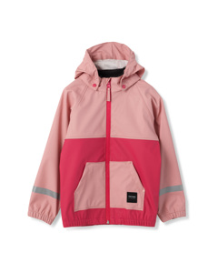 Kids Hood Rainjacket 093/lt Rose/ras