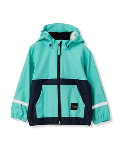 Kids Hood Rainjacket 083/turquoise/n